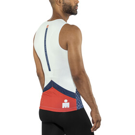 Compressport TR3 Tank Top Men Ironman 2017 blue